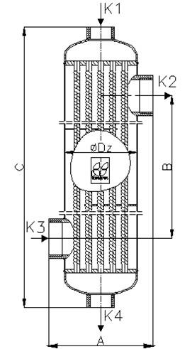 wymiennik ciepla basenowy b180