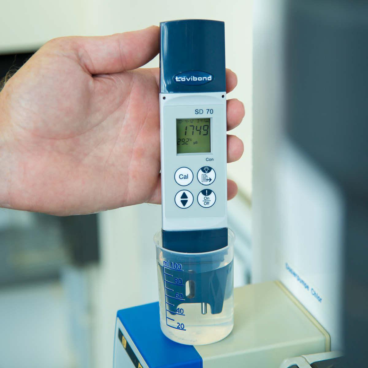 tester sd 70 do pomiaru konduktywnosci wody w basenie lovibond elektroniczny