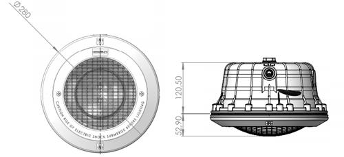 lampa basenowa standard