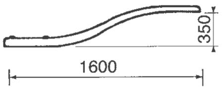 Trampolina basenowa 00076